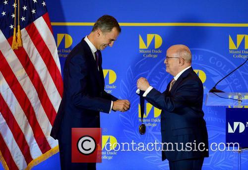 King Felipe Vi and Dr. Eduardo Padron 3