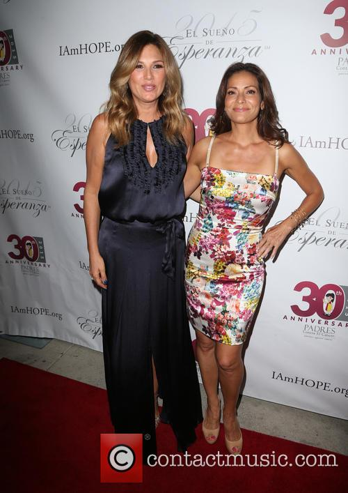 Daisy Fuentes and Constance Marie 3