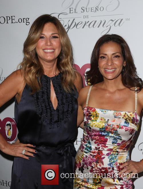 Daisy Fuentes and Constance Marie 5
