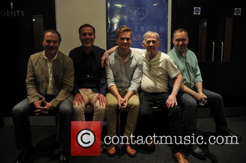 Denny Hodge, Laurence Saunders, Simon Marriott, Tony Clarke (director/screenwriter) and Math Samms 2