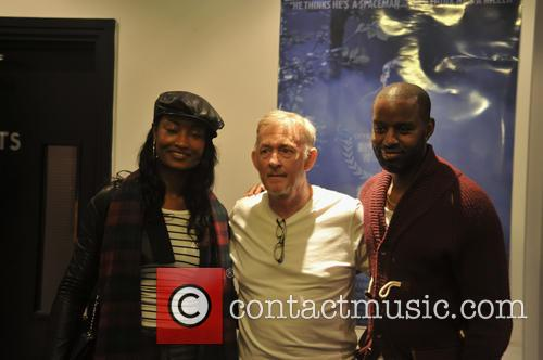 Vanessa Donovan, Tony Clarke (director/screenwriter) and Guest 1