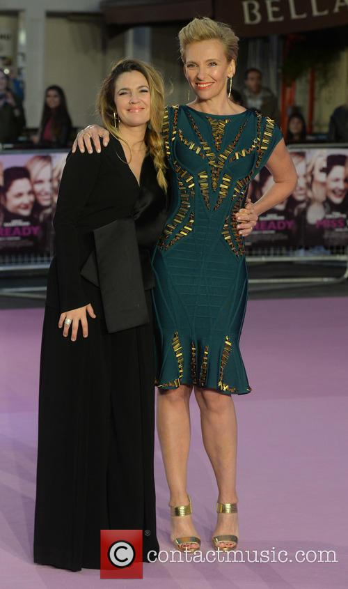 Drew Barrymore and Toni Collette 5