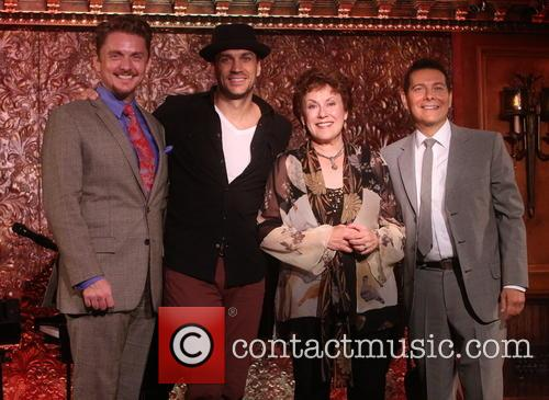 Jason Danieley, Will Swenson, Judy Kaye and Michael Feinstein 1