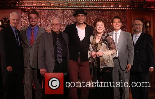 Tom Viertel, Jason Danieley, Steve Baruch, Will Swenson, Judy Kaye, Michael Feinstein and Richard Frankel 1