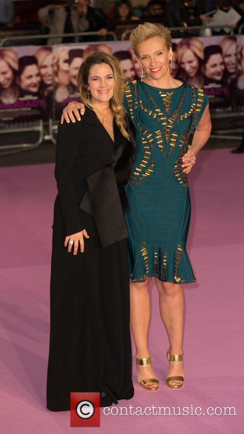 Toni Collette and Drew Barrymore 2