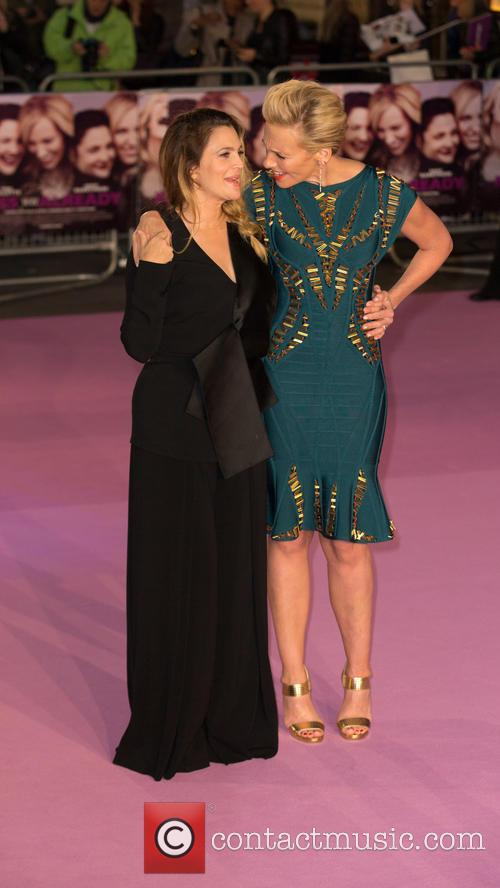Toni Collette and Drew Barrymore 1