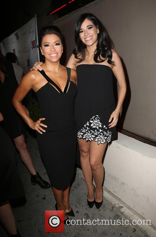 Eva Longoria and Edy Ganem 2