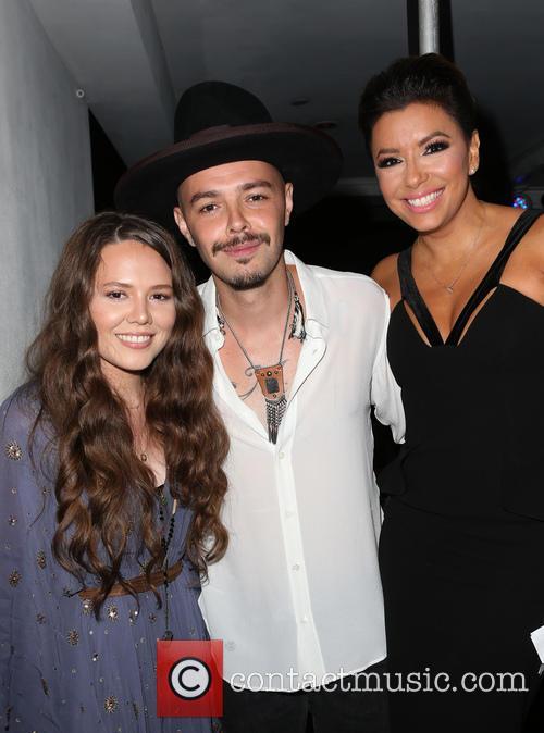 Jesse Huerta, Joy Huerta and Eva Longoria 1