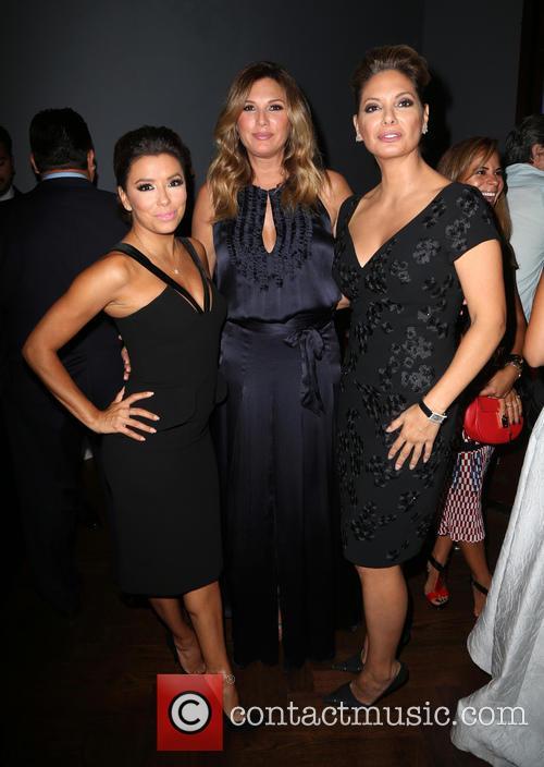 Eva Longoria, Daisy Fuentes and Alex Meneses 2