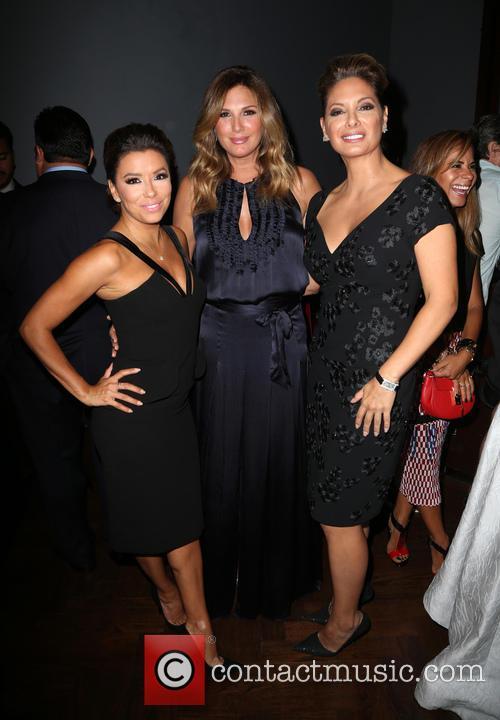 Eva Longoria, Daisy Fuentes and Alex Meneses 3