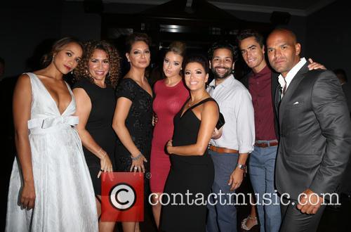Dania Ramirez, Diana Maria Riva, Alex Meneses, Jadyn Douglas, Eva Longoria, Jose Moreno Brooks, Amaury Nolasco and Izzy Diaz 2