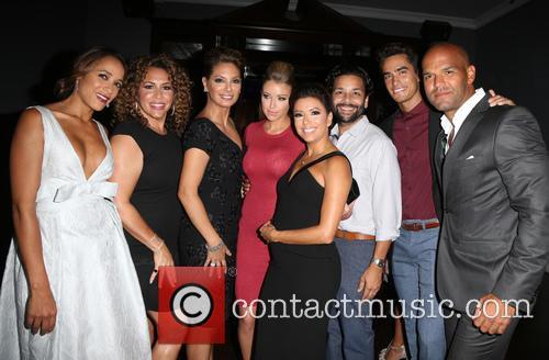 Dania Ramirez, Diana Maria Riva, Alex Meneses, Jadyn Douglas, Eva Longoria, Jose Moreno Brooks and Amaury Nolasco 1