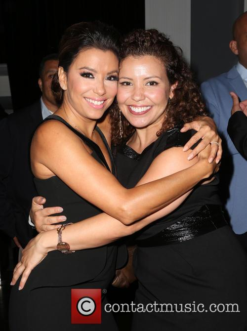 Eva Longoria and Justina Machado