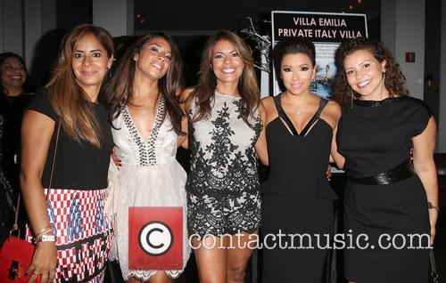 Christina Vidal, Lisa Vidal, Eva Longoria and Ju
