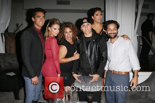 Jose Moreno Brooks, Jadyn Douglas, Diana Maria Riva, Taboo, Eva Longoria and Izzy Diaz 2