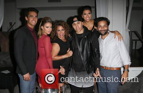 Jose Moreno Brooks, Jadyn Douglas, Diana Maria Riva, Taboo, Eva Longoria and Izzy Diaz 1