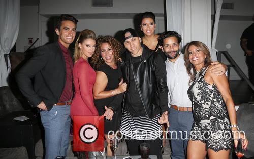 Jose Moreno Brooks, Jadyn Douglas, Diana Maria Riva, Taboo, Eva Longoria, Izzy Diaz and Lisa Vidal 2