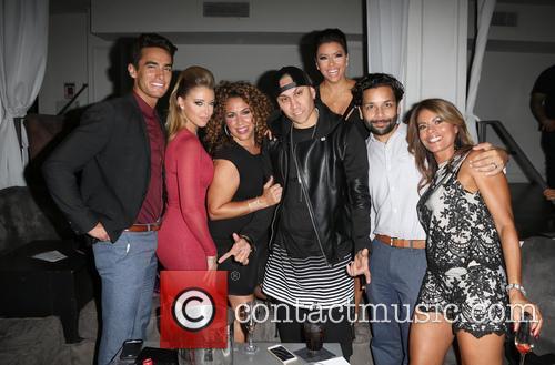 Jose Moreno Brooks, Jadyn Douglas, Diana Maria Riva, Taboo, Eva Longoria, Izzy Diaz and Lisa Vidal 3