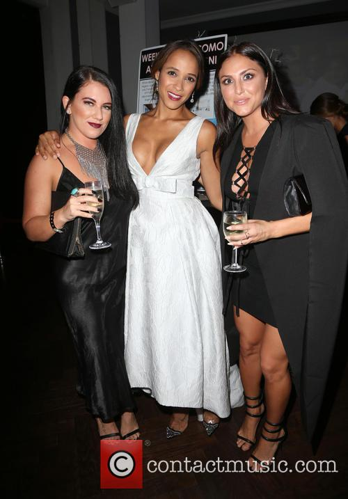 Brittny Sugarman, Dania Ramirez and Cassie Scerbo 2