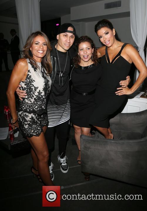 Lisa Vidal, Taboo, Justina Machado and Eva Longoria 2