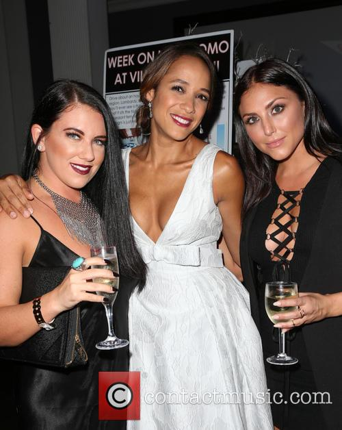 Brittny Sugarman, Dania Ramirez and Cassie Scerbo 1