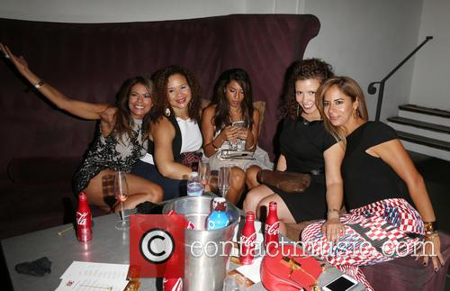 Lisa Vidal, Christina Vidal and Justina Machado 1