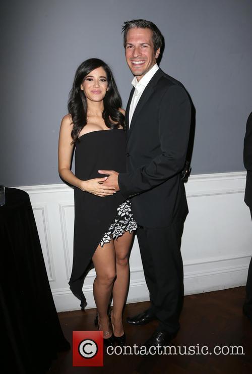 Edy Ganem and Baby Daddy 1