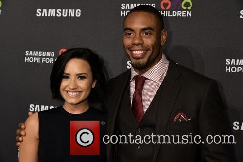Demi Lovato and Rashad Jennings 2
