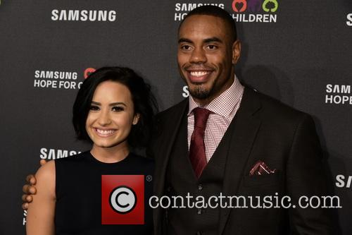 Demi Lovato and Rashad Jennings 1