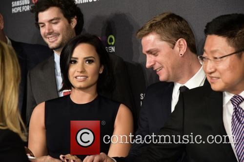 Demi Lovato, Rob Thomas and Gregory Lee 1