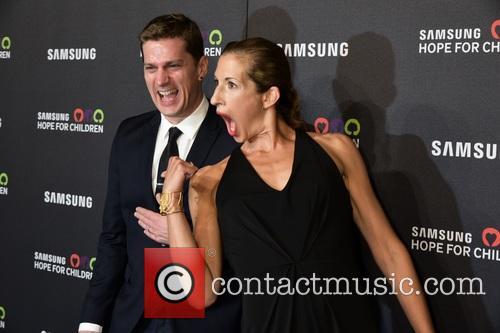 Rob Thomas and Alysia Reiner 1