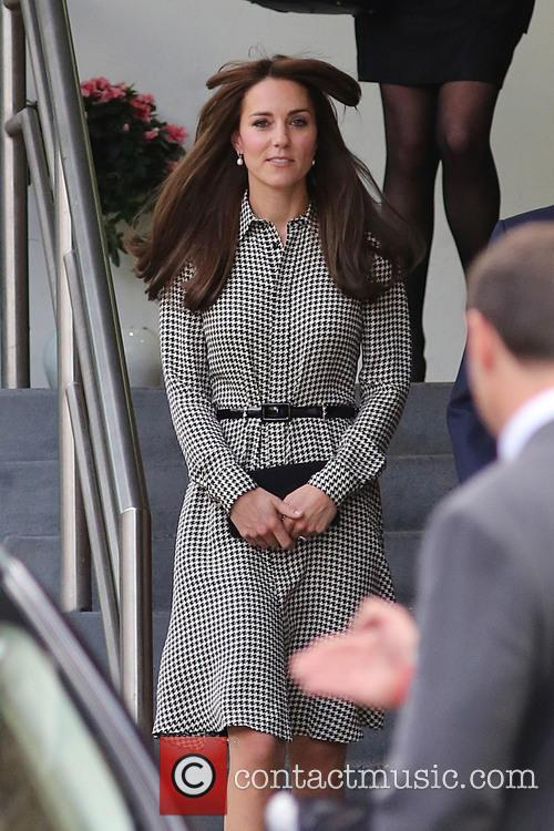 The Duchess of Cambridge visits the Anna Freud...