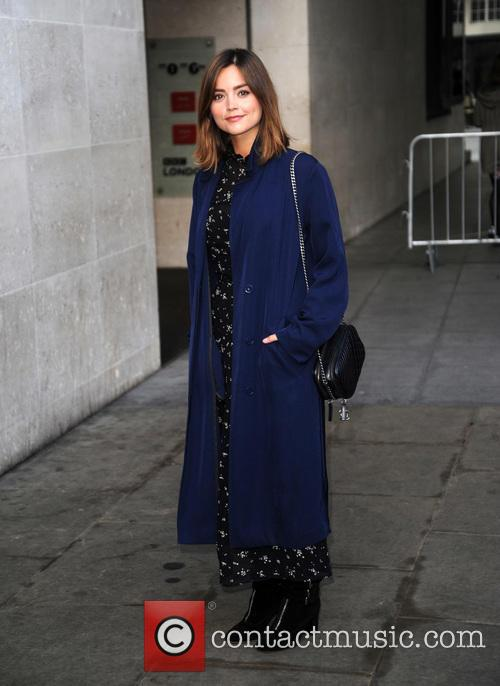 Jenna Louise Coleman at BBC Radio 1