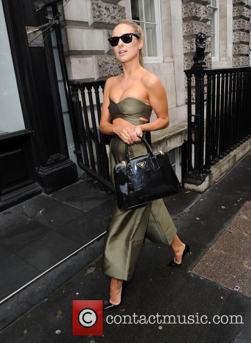 Kimberley Garner sighting in London