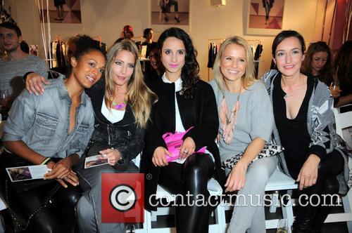 Milka Loff-fernandes, Florentine Lahme, Stephanie Stumph, Nova Meierhenrich and Maike Von Bremen 1