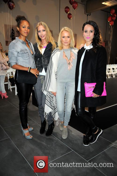 Milka Loff-fernandes, Florentine Lahme, Nova Meierhenrich and Stephanie Stumph 5