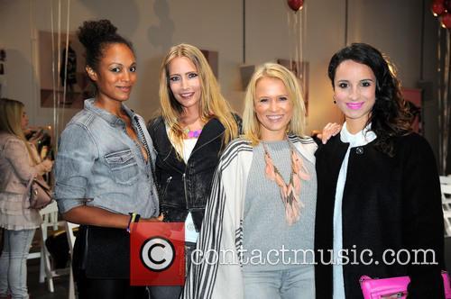 Milka Loff-fernandes, Florentine Lahme, Nova Meierhenrich and Stephanie Stumph 1