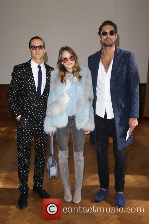 Oliver Proudlock, Rosie Fortescue and Hugo Taylor 2