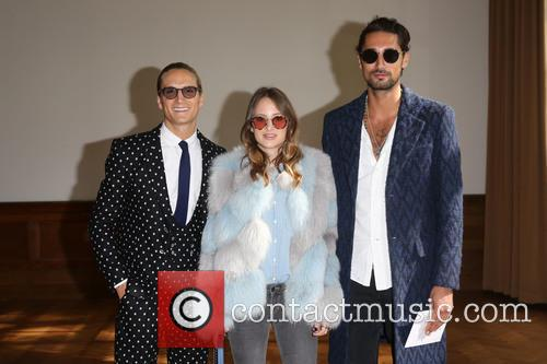 Oliver Proudlock, Rosie Fortescue and Hugo Taylor 1