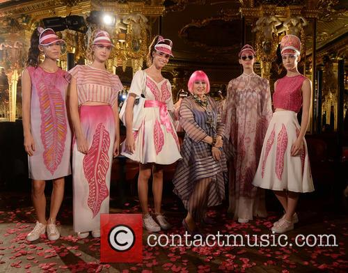 London Fashion Week Spring/Summer 2016 - Zandra Rhodes...