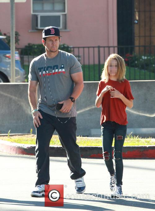 Mark Wahlberg and Ella Rae Wahlberg 2