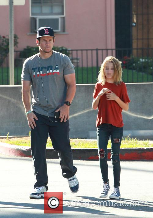 Mark Wahlberg and Ella Rae Wahlberg 3