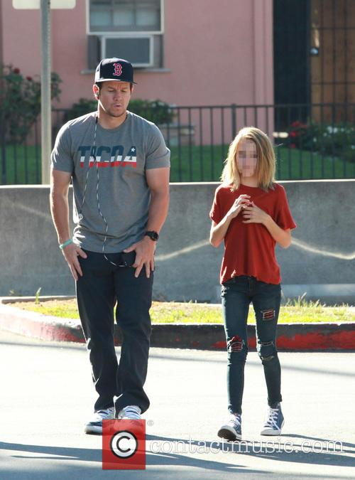 Mark Wahlberg and Ella Rae Wahlberg 5