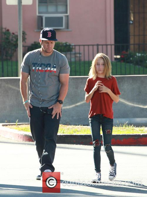 Mark Wahlberg and Ella Rae Wahlberg 6
