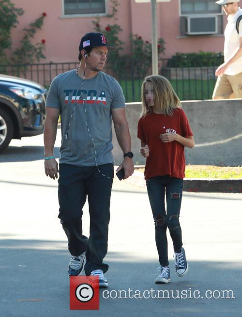 Mark Wahlberg and Ella Rae Wahlberg 7