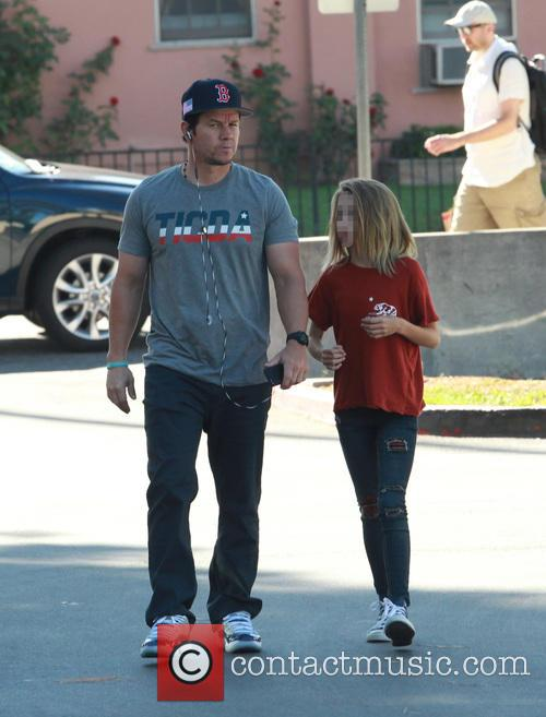 Mark Wahlberg and Ella Rae Wahlberg 8