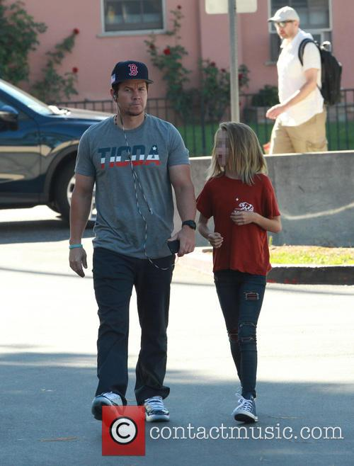 Mark Wahlberg and Ella Rae Wahlberg 9