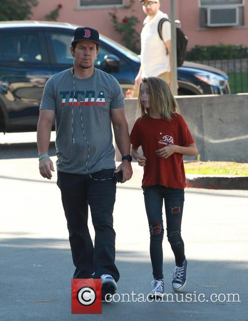 Mark Wahlberg and Ella Rae Wahlberg 10