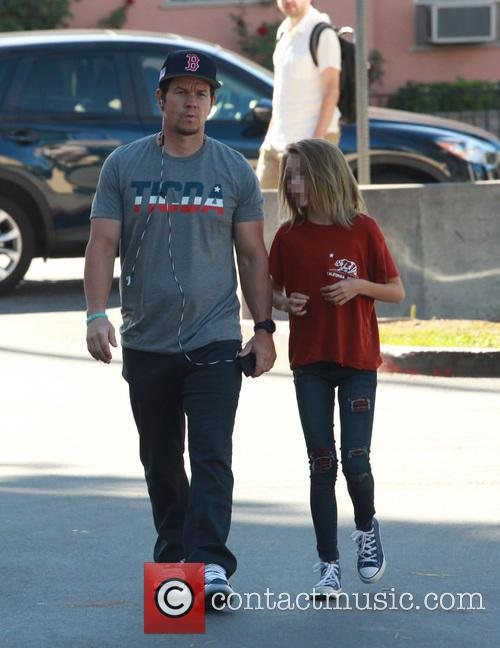 Mark Wahlberg and Ella Rae Wahlberg 11