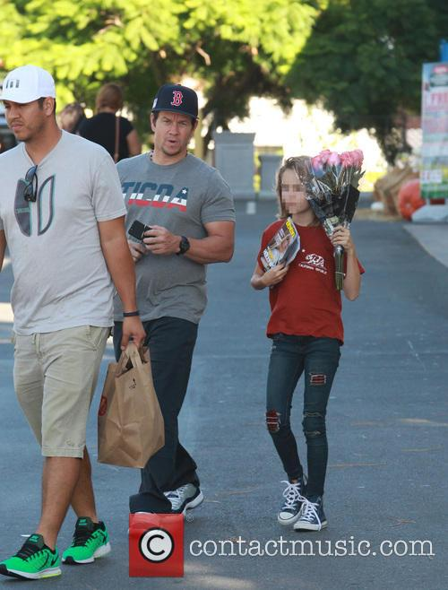 Mark Wahlberg and his daughter Ella Rae pick...